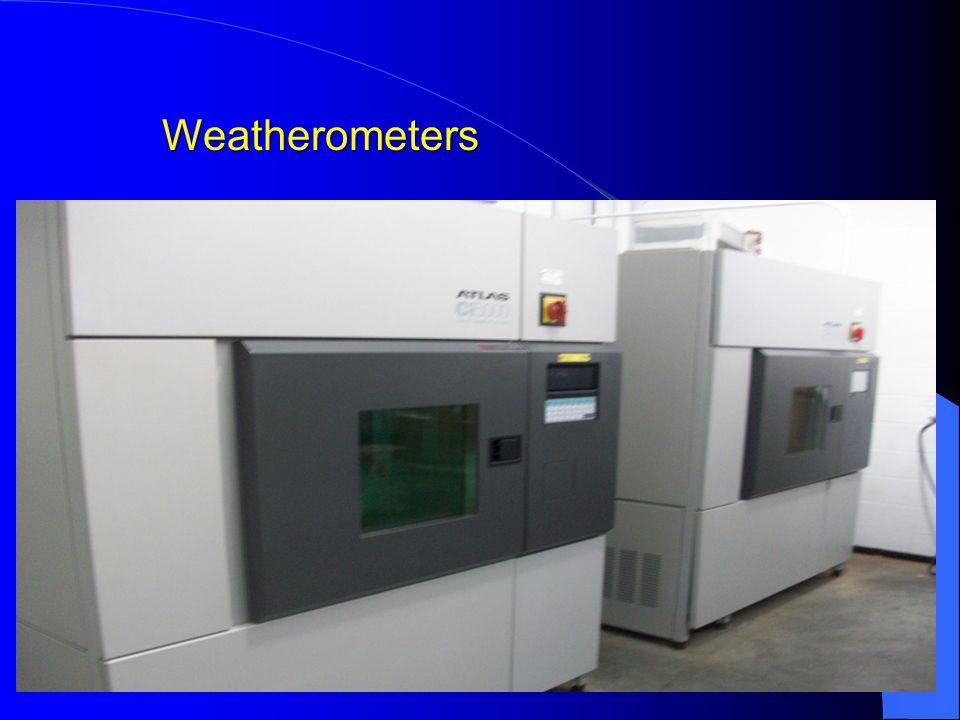 Weatherometers