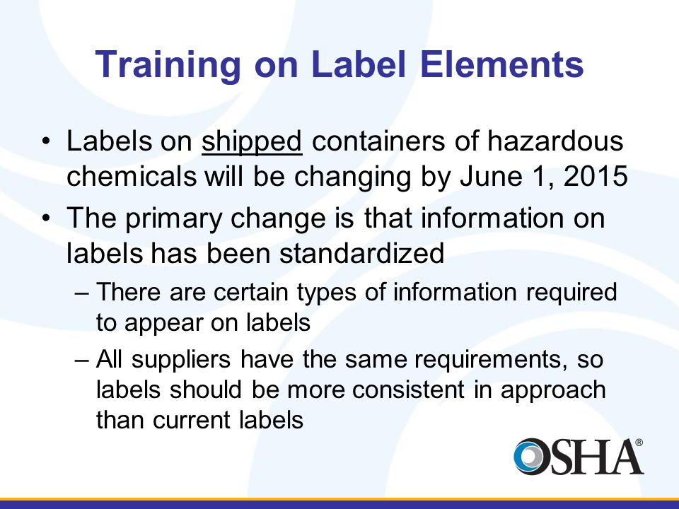 What is a Label Element.
