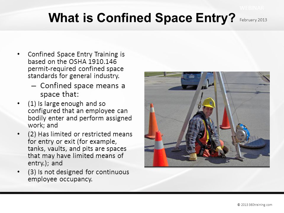 What is Confined Space Entry.
