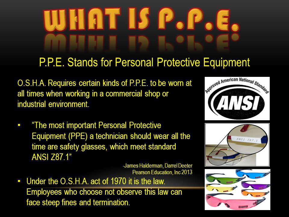 ANSI Approved, What Does That Mean.(ANSI) is the American National Standards Institute.