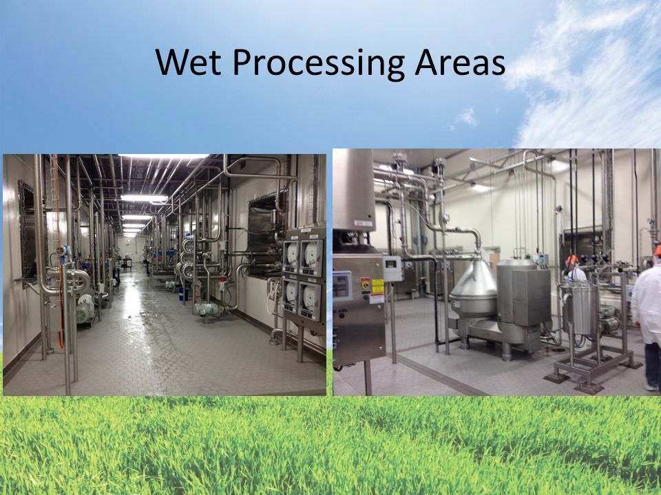 Wet Processing Areas 10