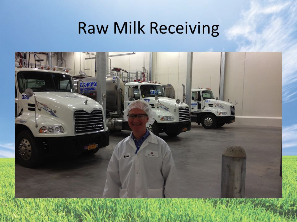 Raw Milk Receiving 9