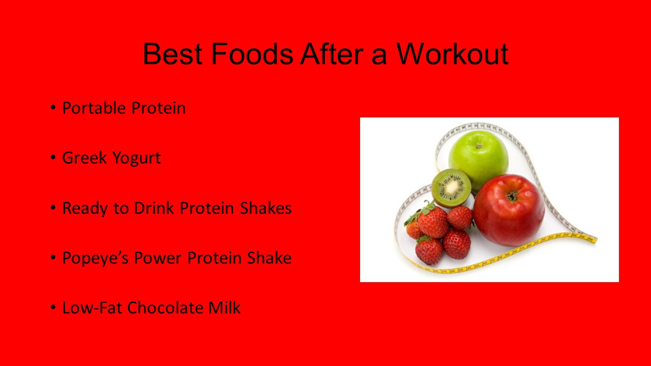 Best Foods After a Workout Portable Protein Greek Yogurt Ready to Drink Protein Shakes Popeye's Power Protein Shake Low-Fat Chocolate Milk