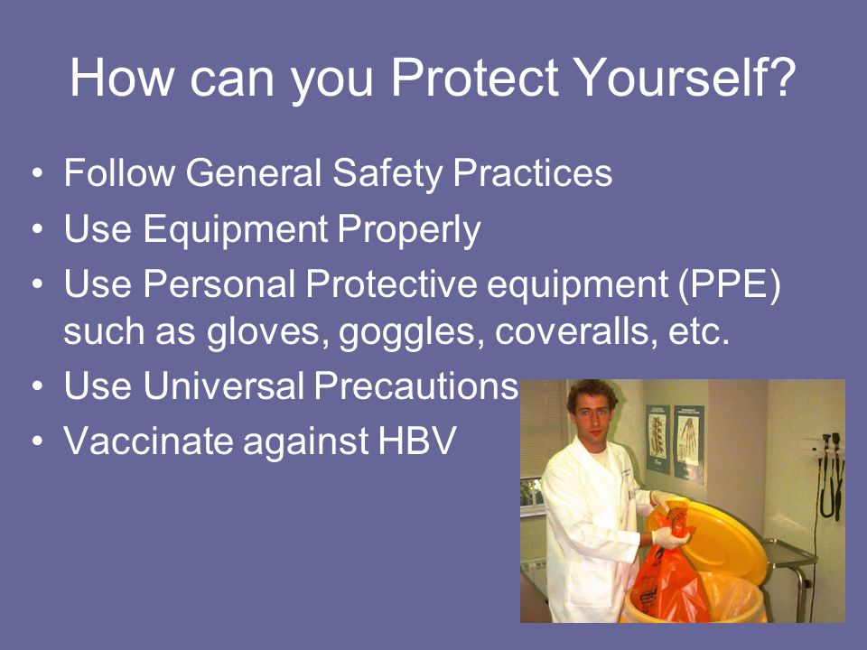How can you Protect Yourself.