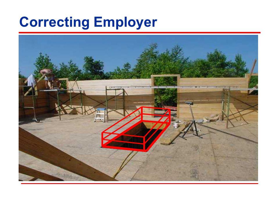 Correcting Employer