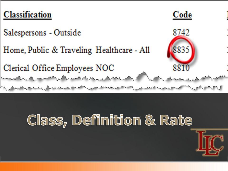 Exposure/100 x Rate = Manual Premium 10,000 x 5.02= $50,200
