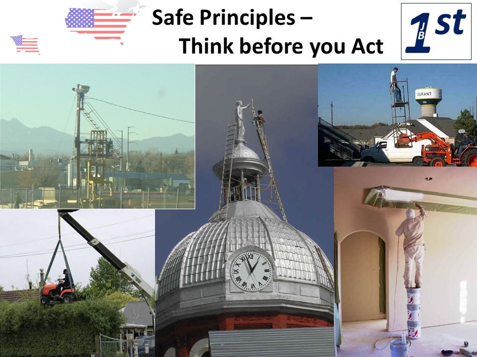 Safe Principles – Think before you Act