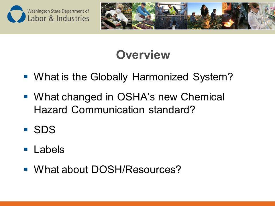 What is the Globally Harmonized System (GHS)?