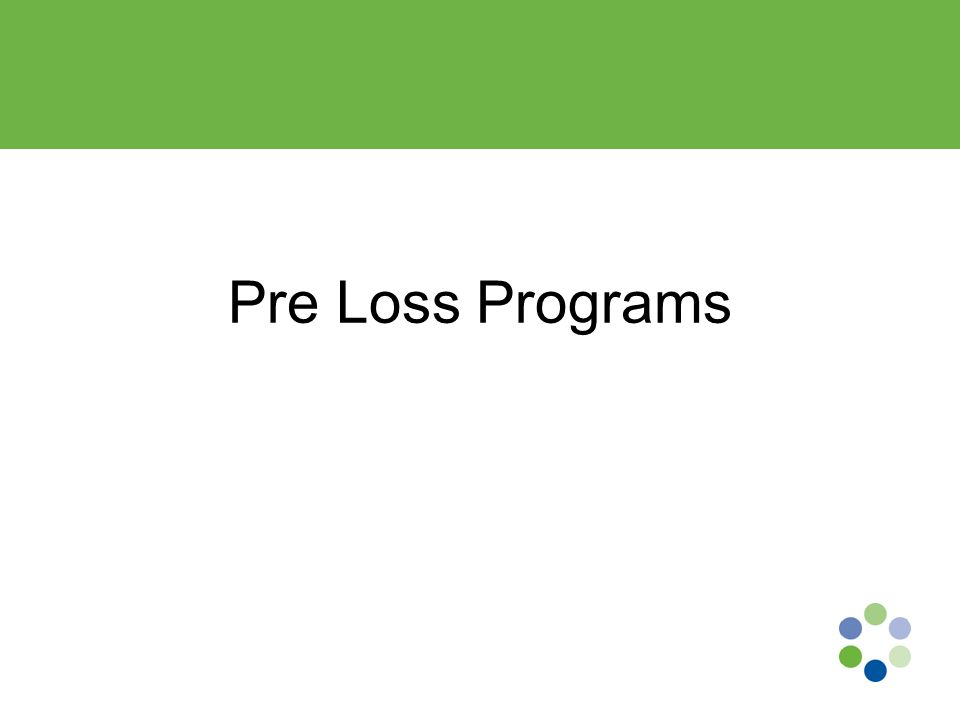 Pre-Loss Program Hiring should be consistent and documented across your system Develop a Post-Offer employment screening program Once a conditional job offer is made –Most use a physical demands program –Screening, H&P, background checks Note: A conditional offer of employment may be withdrawn if the applicant cannot functionally do the job, or if the applicant or others would be exposed to serious risk of imminent injury.