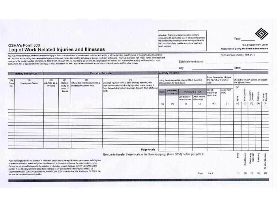 23 Electronic Version of OSHA 300 & 300A