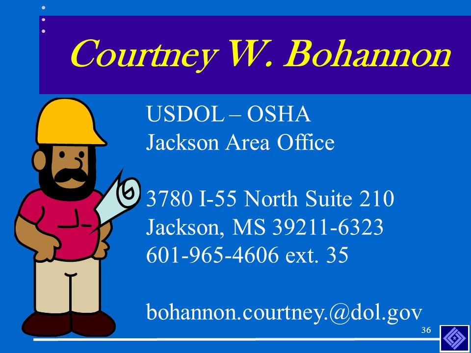 35 Entering Information on the OSHA 300 Log 7/16/02 John Doe, Shop Foreman, had a diabetic incident that occurred while he was working.