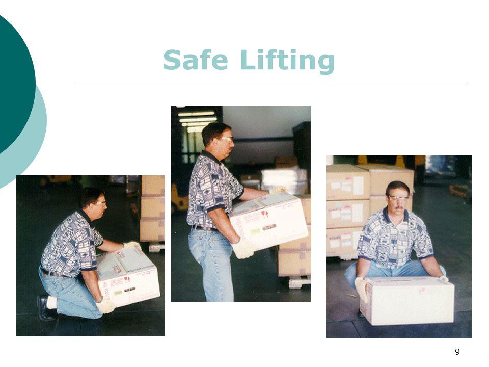 9 Safe Lifting