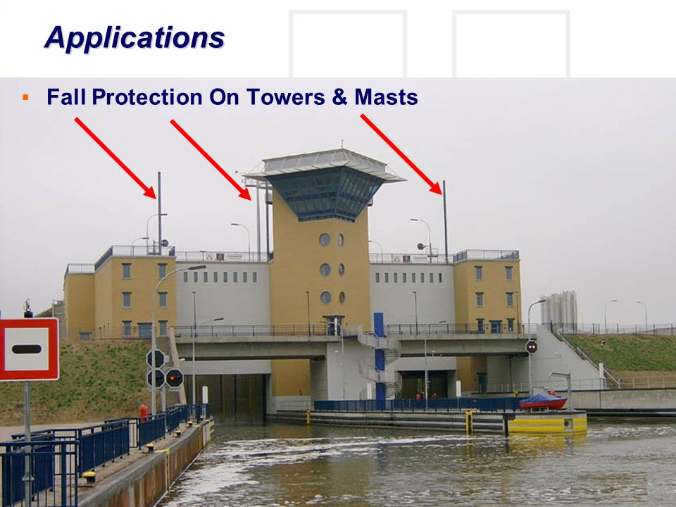 © Frank Martin www.fall-protection.com  Fall Protection On Towers & Masts Applications