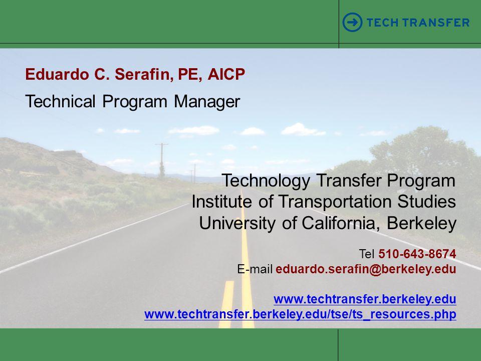 Technical Program Manager Eduardo C.