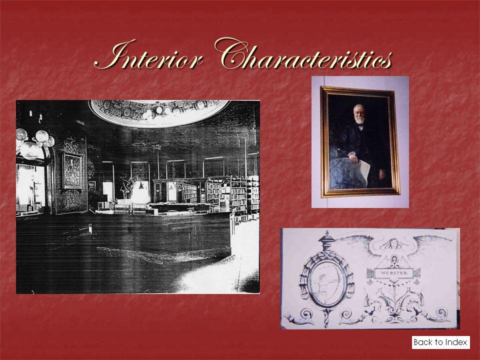 Interior Characteristics
