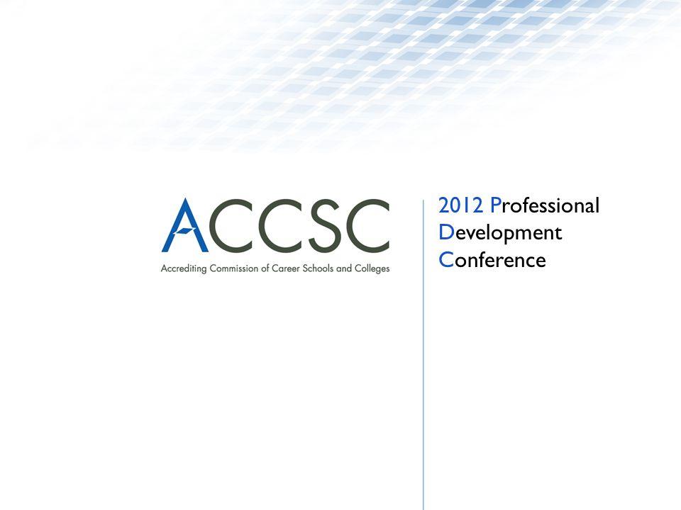 2012 Professional Development Conference