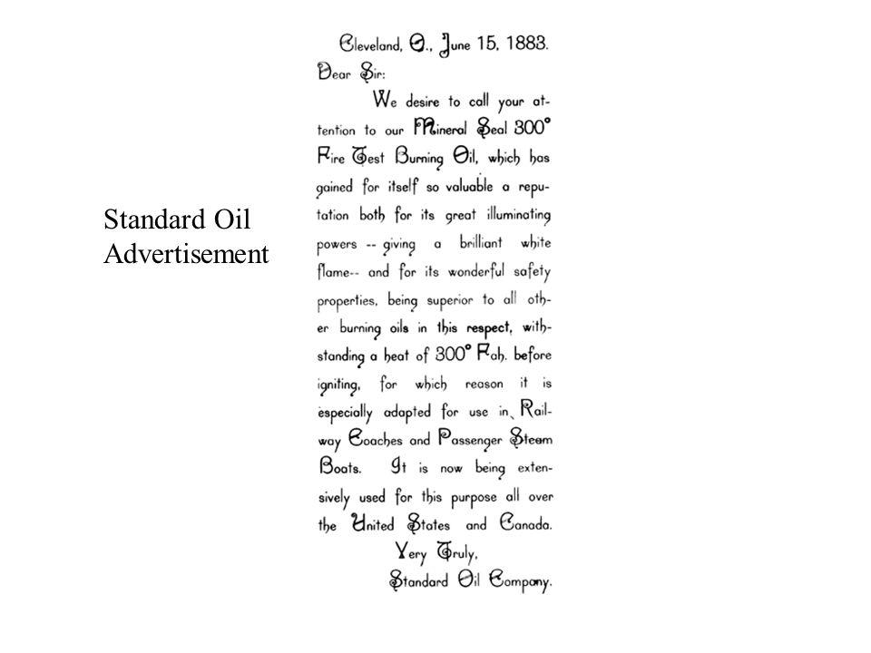 Standard Oil Advertisement