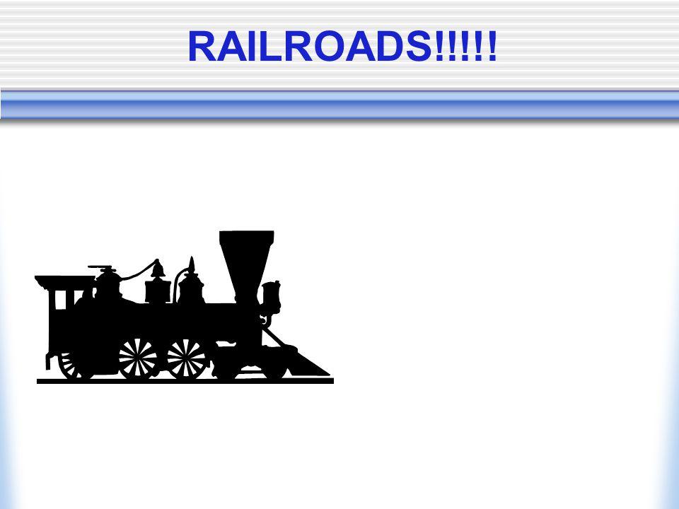 RAILROADS!!!!!