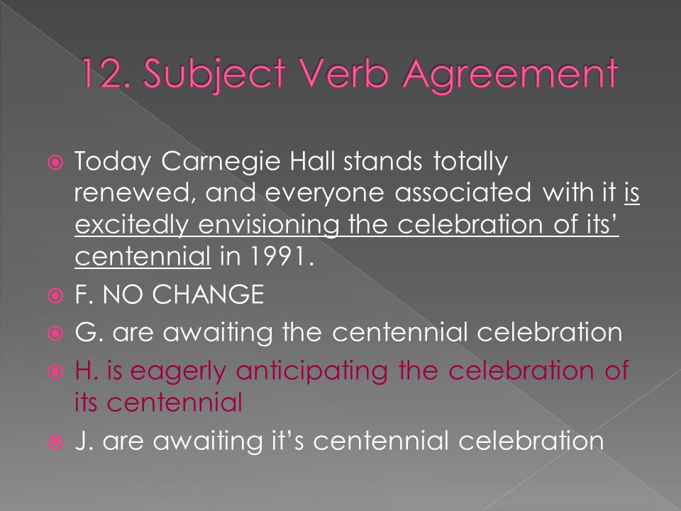  Today Carnegie Hall stands totally renewed, and everyone associated with it is excitedly envisioning the celebration of its' centennial in 1991.