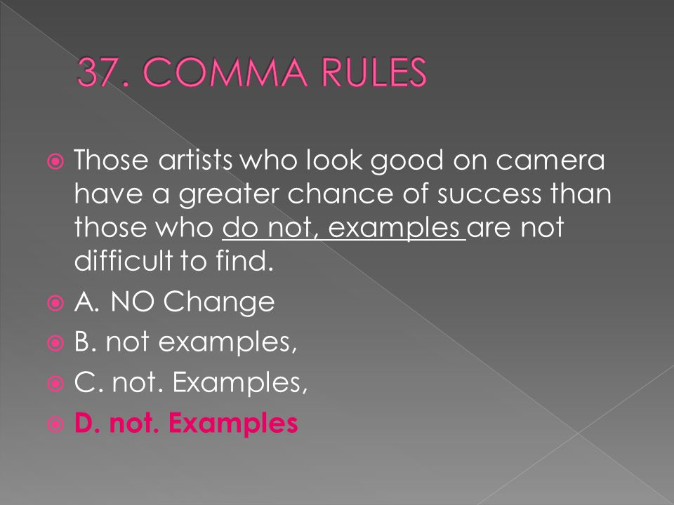  Those artists who look good on camera have a greater chance of success than those who do not, examples are not difficult to find.