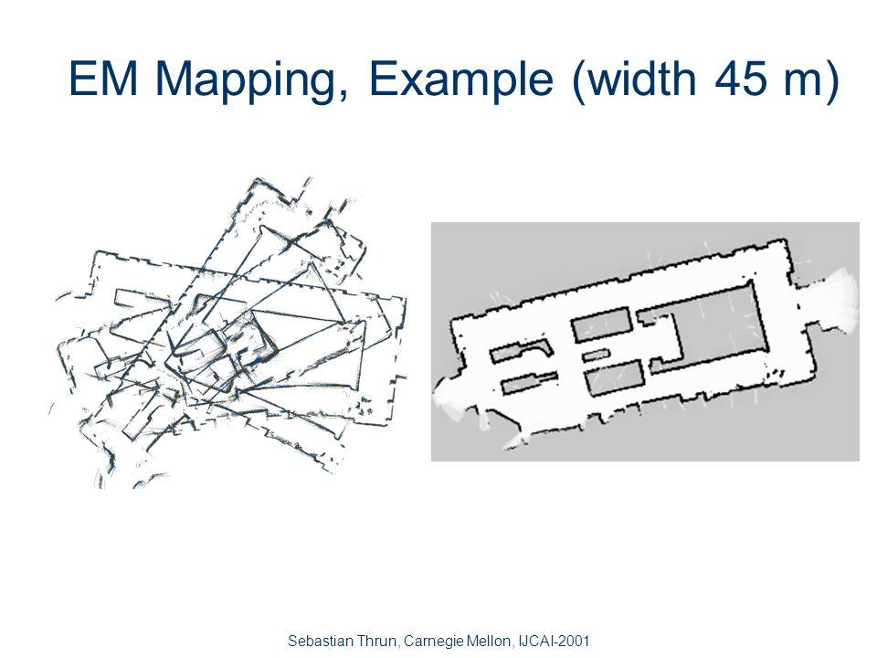 Sebastian Thrun, Carnegie Mellon, IJCAI-2001 CMU's Wean Hall (80 x 25 meters) 15 landmarks 16 landmarks 17 landmarks27 landmarks