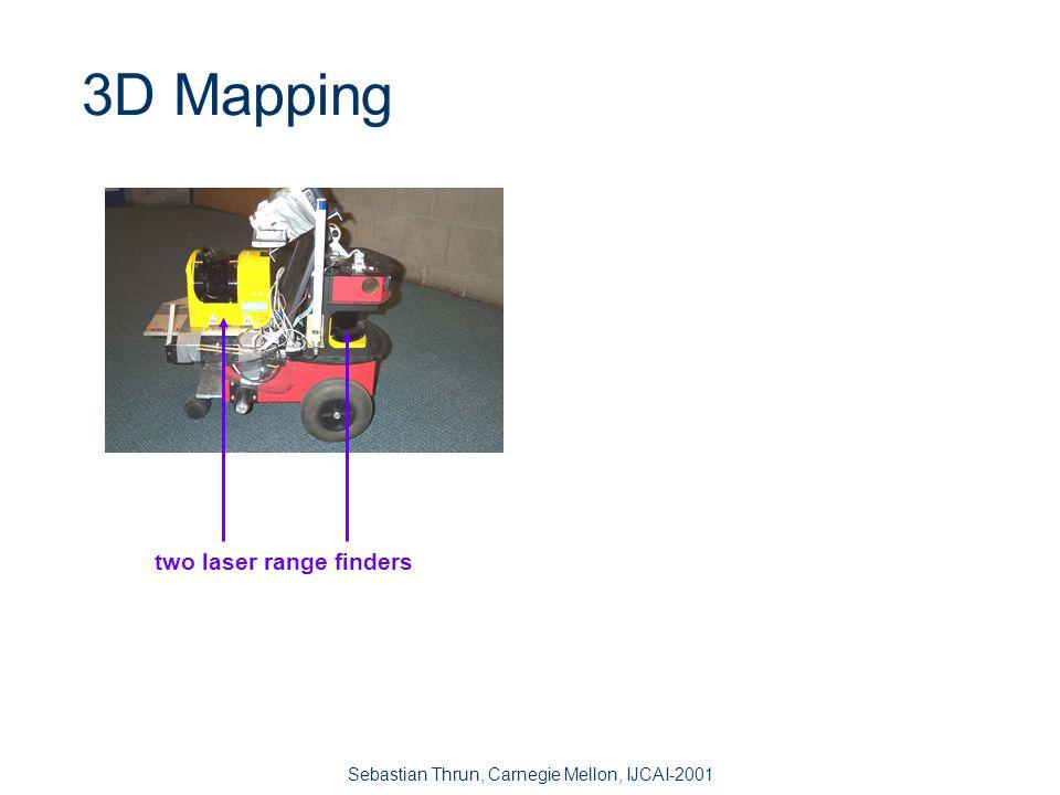 Sebastian Thrun, Carnegie Mellon, IJCAI-2001 Localization in Multi-Robot Mapping