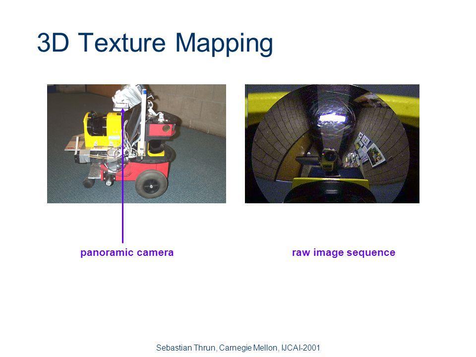Sebastian Thrun, Carnegie Mellon, IJCAI-2001 3D Structure Mapping (Real-Time)