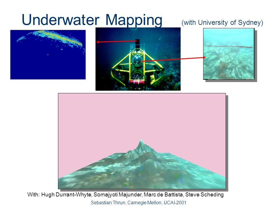 Sebastian Thrun, Carnegie Mellon, IJCAI-2001 3D Texture Mapping