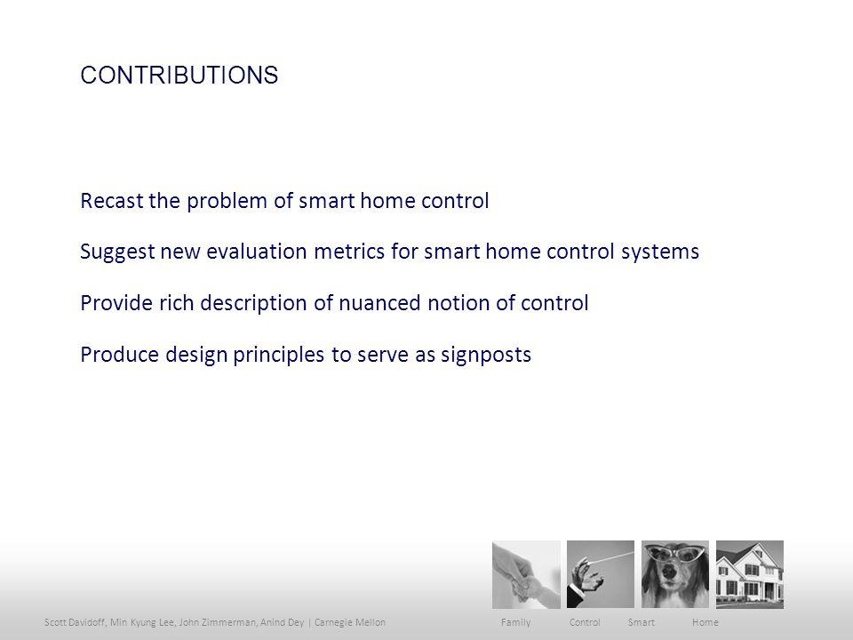 Scott Davidoff, Min Kyung Lee, John Zimmerman, Anind Dey | Carnegie Mellon Family Control Smart Home BREAKDOWNS SICK CHILD
