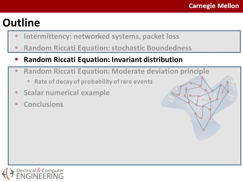Carnegie Mellon Random Riccati Equation: Invariant Distribution  Stochastic Boundedness: 