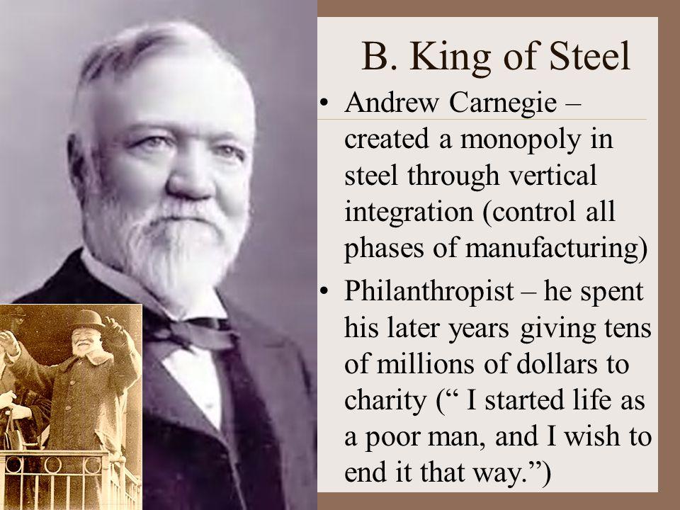 On Wealth Andrew Carnegie $ Gospel of Wealth (1901): $ Inequality is inevitable and good.