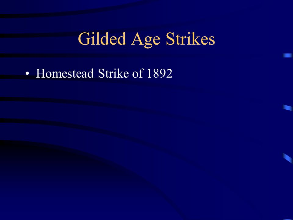 Homestead Strike of 1892