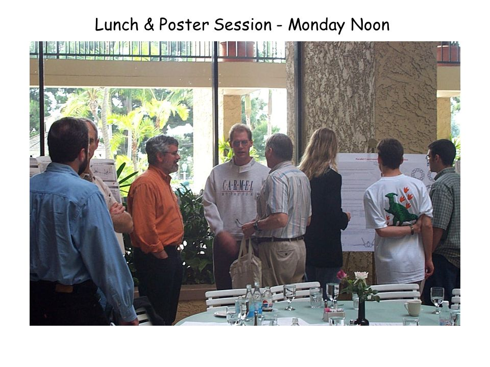 Lunch & Poster Session - Monday Noon