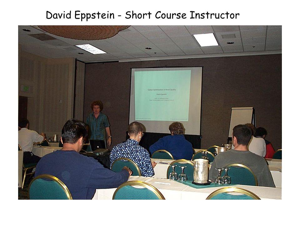 David Eppstein - Short Course on Sunday