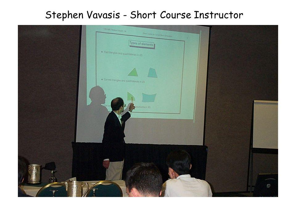 David Eppstein - Short Course Instructor