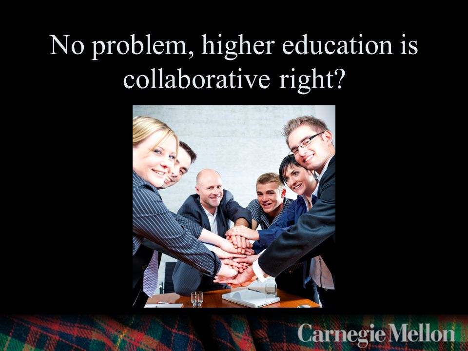 No problem, higher education is collaborative right