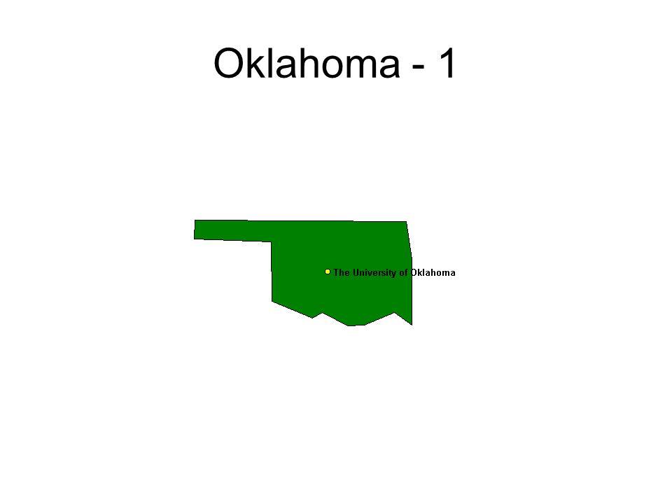 Oklahoma - 1