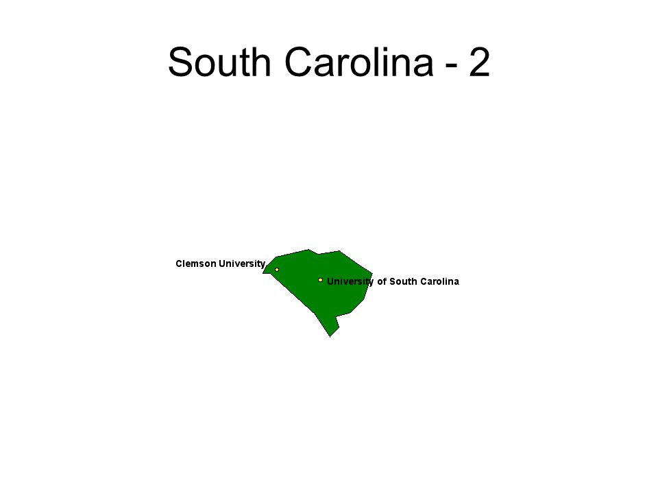 South Carolina - 2