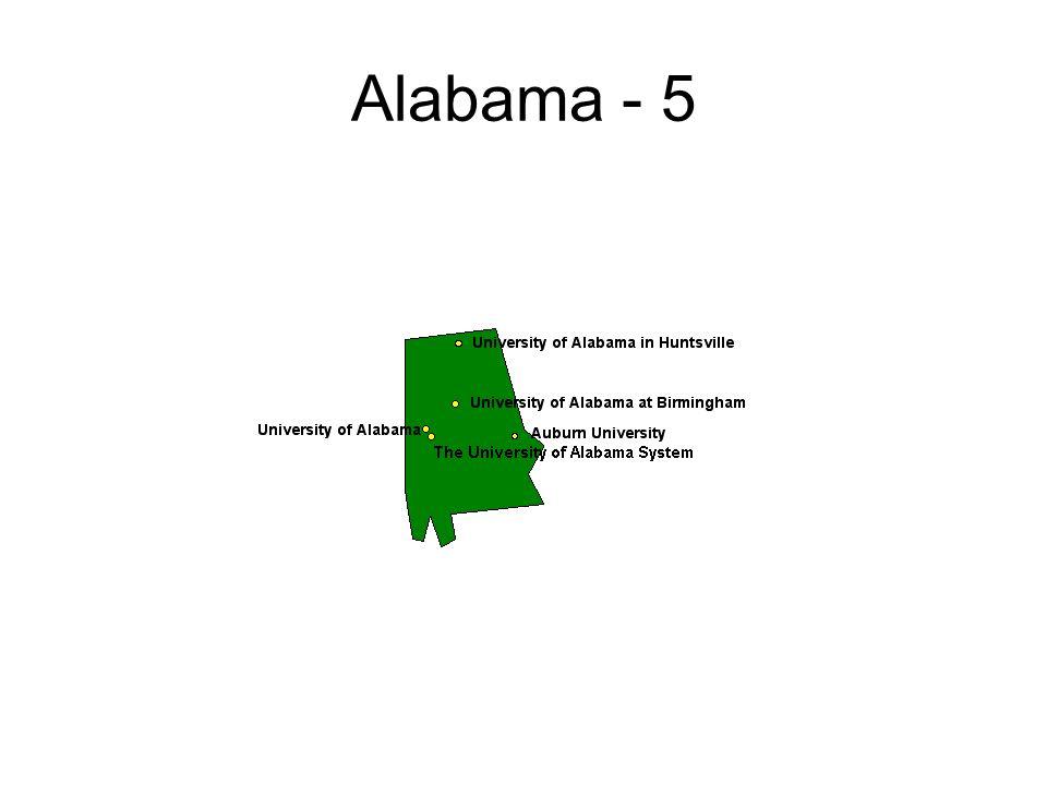 Alabama - 5