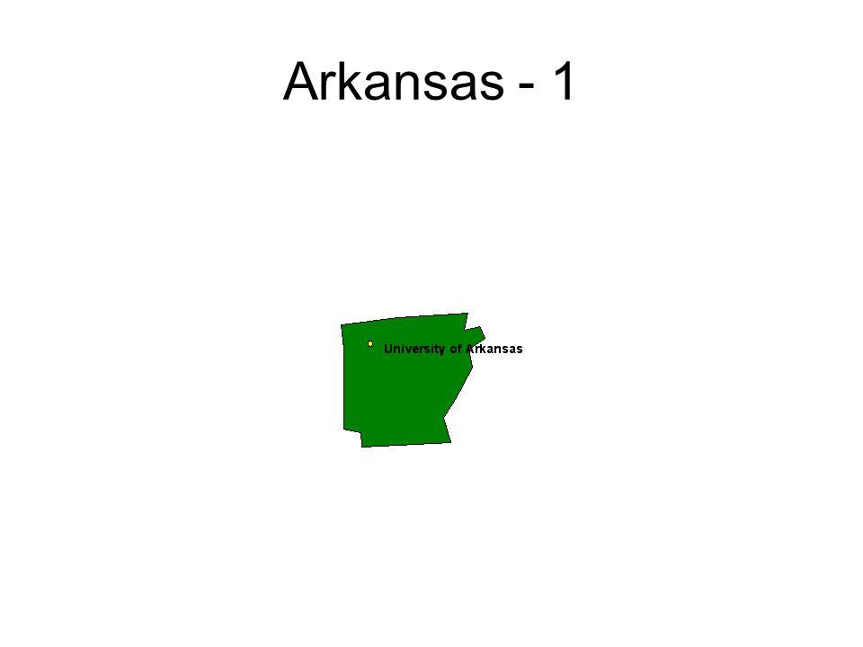 Arkansas - 1