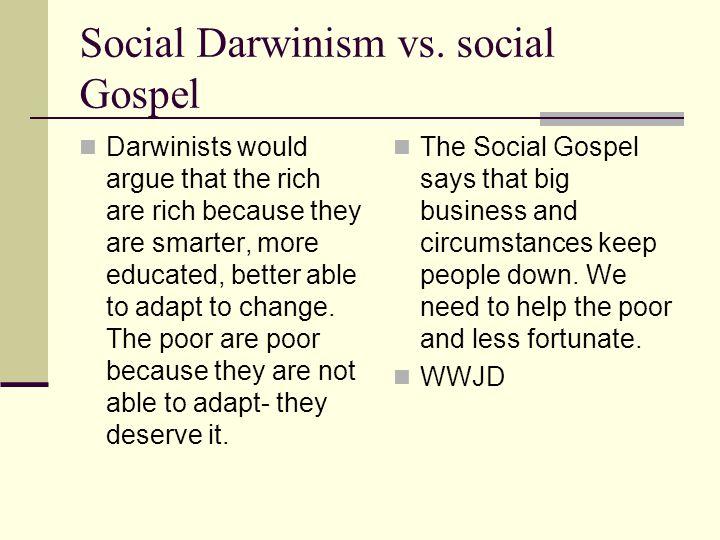 Social Darwinism vs.