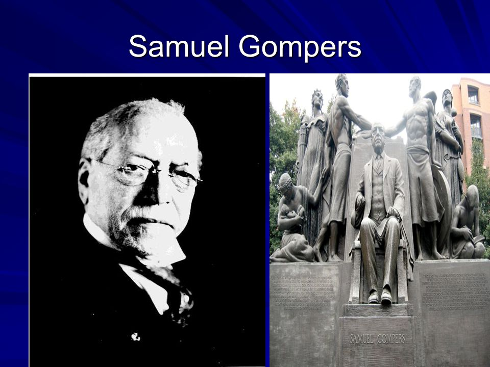 American Federation of Labor In 1886, Samuel Gompers founded the American Federation of Labor It consisted of an association of self-governing national unions, each of which kept its independence, with the AF of L unifying overall strategy.