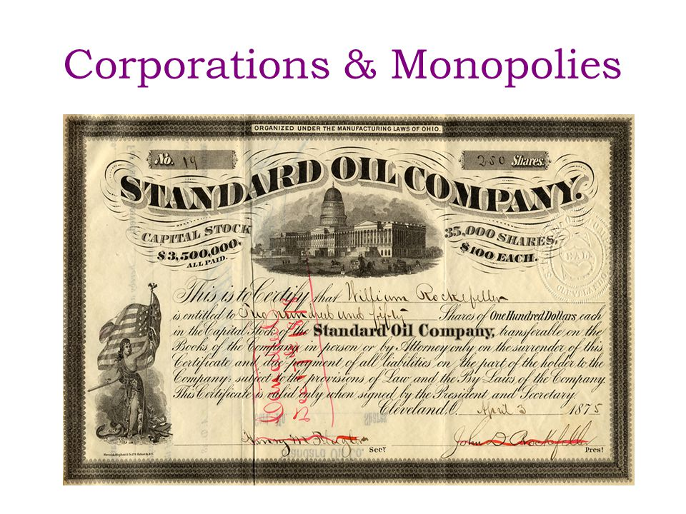 Corporations a business arrangement whereby capital is raised by selling shares of stock in return for profit and partial ownership in a company – profit and ownership based on amount of shares purchased by each individual investor – losses limited to amount of the individual investment