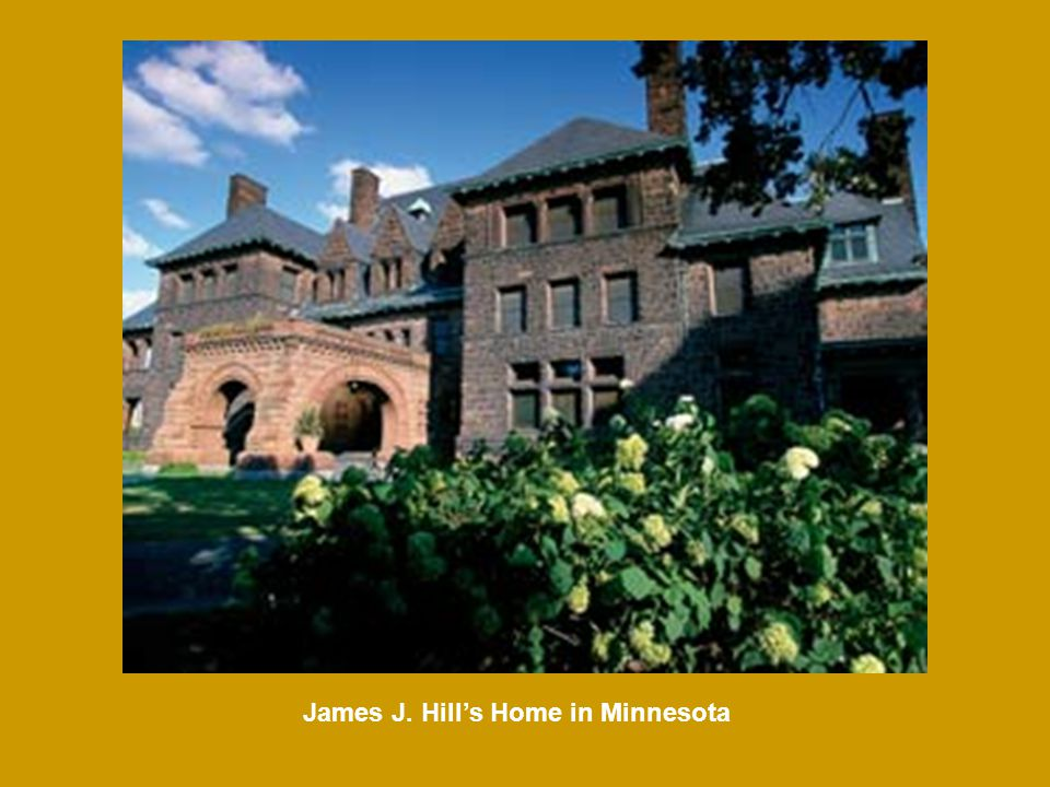 James J. Hill's Home in Minnesota