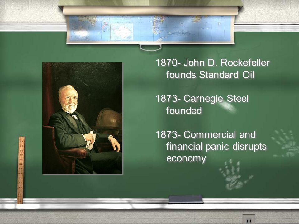 1870- John D.
