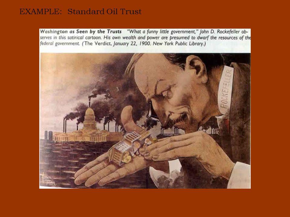 EXAMPLE: Standard Oil Trust