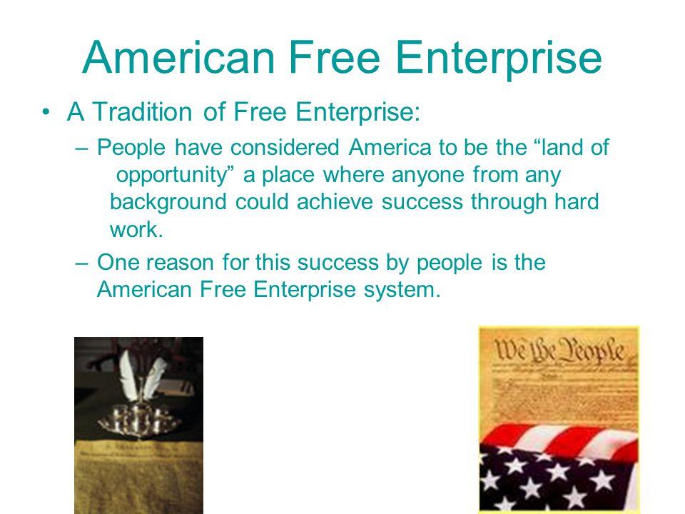 American Free Enterprise REVIEW: 1.