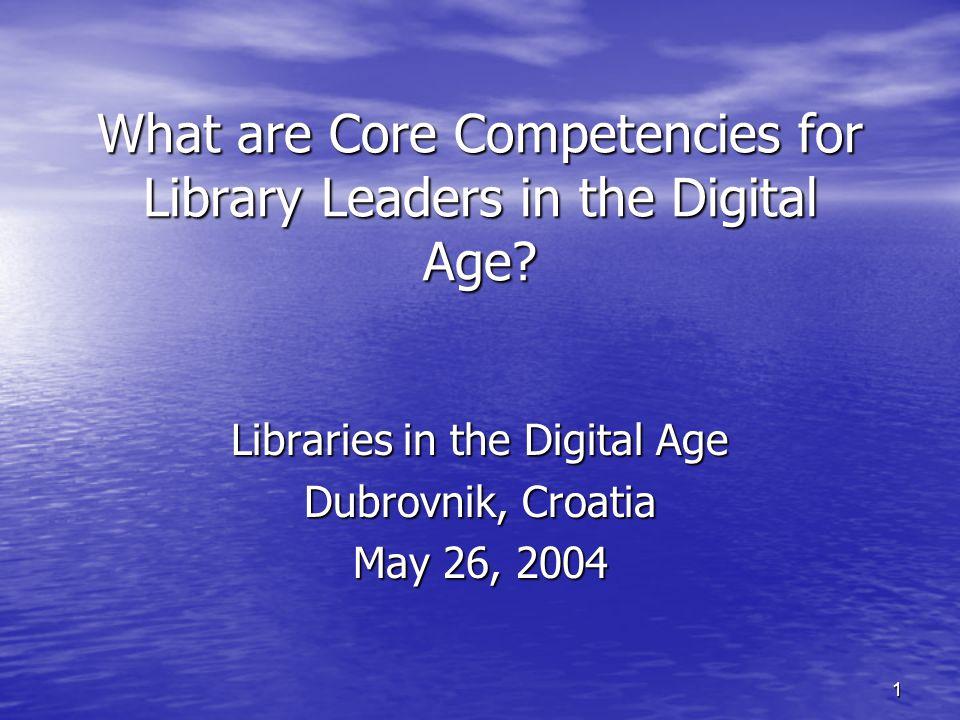 2 Core Competencies Wanda V.Dole, Washburn University, Topeka, Kansas, USA Wanda V.