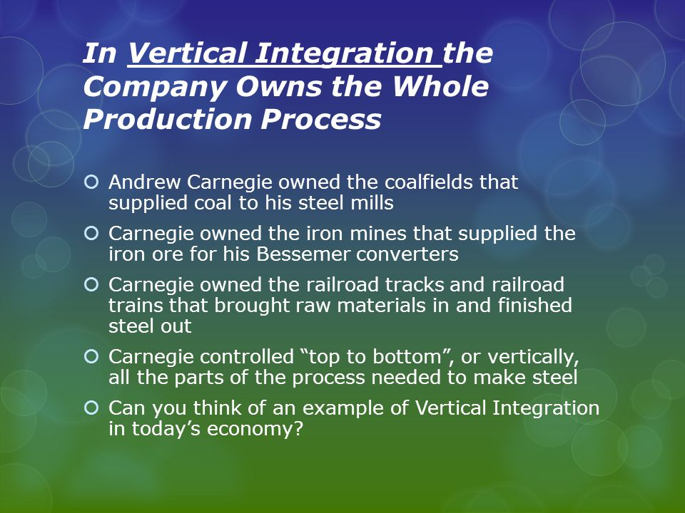 What is Horizontal Integration.