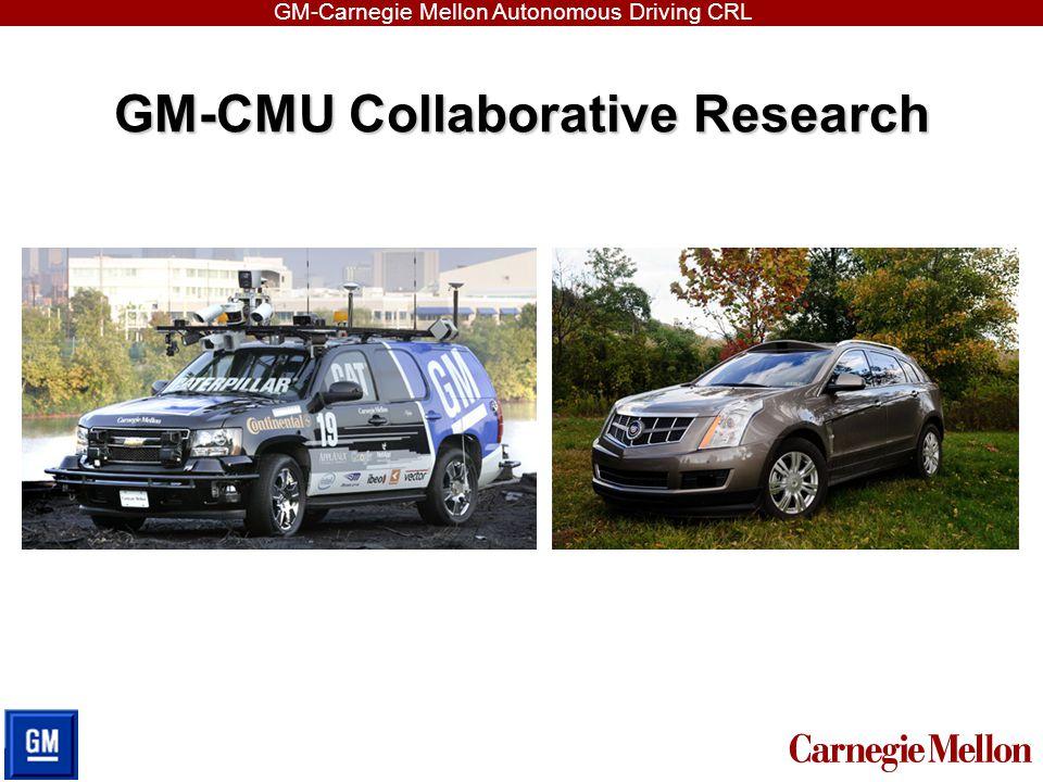 GM-Carnegie Mellon Autonomous Driving CRL Thank You! Q & A
